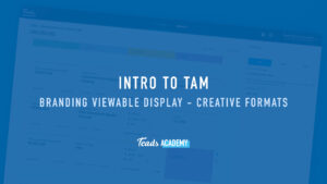 Branding Viewable Display - Creative Formats