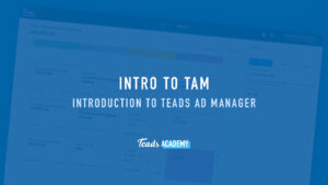 Introduction to TAM 101