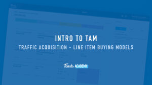 Traffic Acquisition – Line Item Buying Models