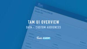 Data - Custom Audiences
