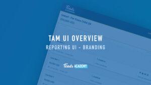 Reporting UI - Branding